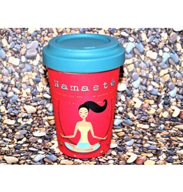 "BambooCup Bamboo-Cup ""Yoga Love"""