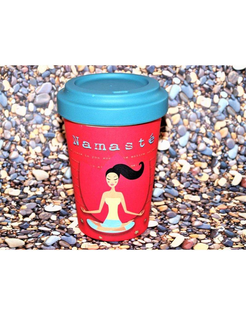 "BambooCup Bamboo-Cup ""Yoga Love"""