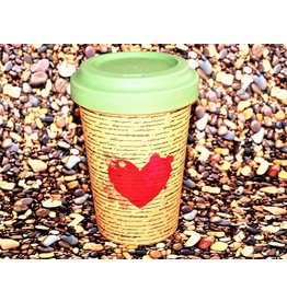 "BambooCup Bamboo-Cup ""Love Letters"""