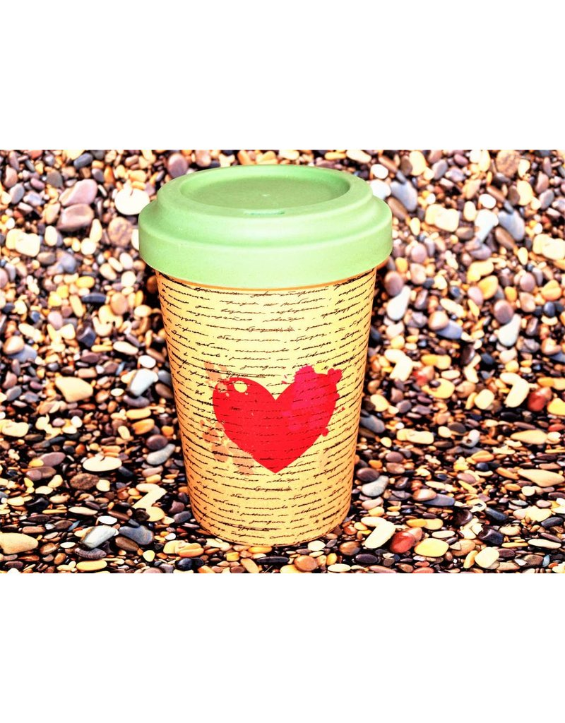 """BambooCup Bamboo-Cup """"Love Letters"""""""