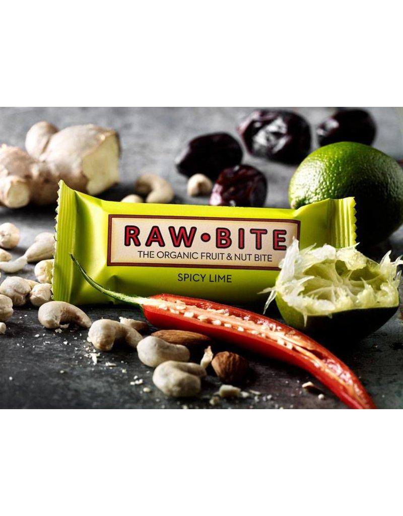 RAW  Bite Spicy Lime Nuss-Frucht Riegel