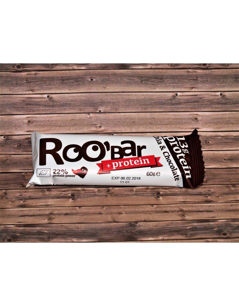 Roo´bar Proteinriegel Chia & Chocolate Protein bar