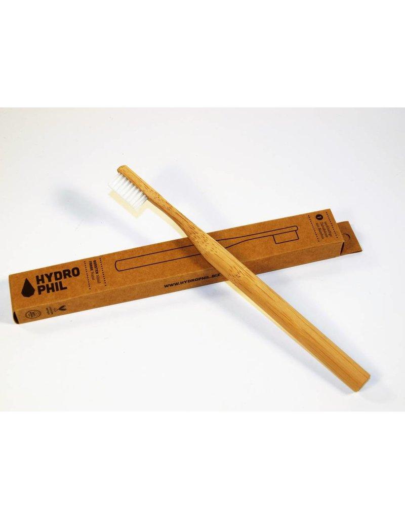 Hydrophil Bambus Zahnbürste natur mittel