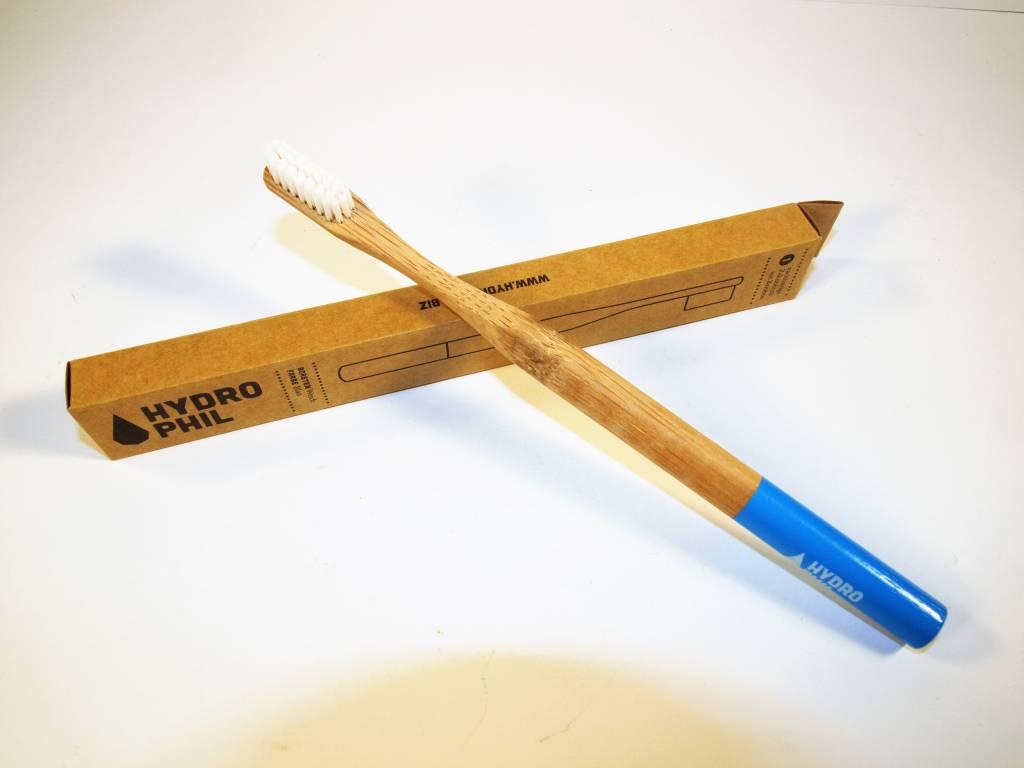 Hydrophil Bambus Zahnbürste blau weich