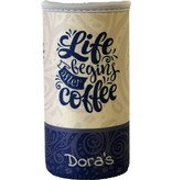 Biodora Dora´s Coffee to go Glasbecher mit Neoprenbezug