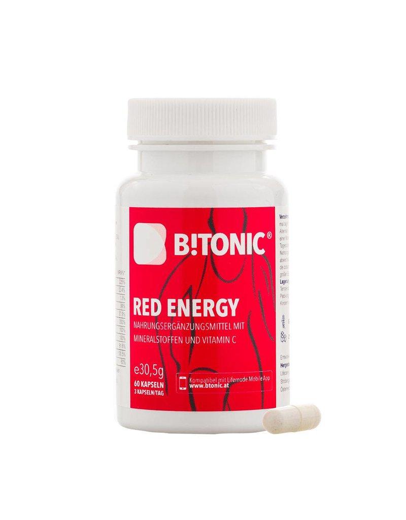 B!TONIC B!Tonic Red Energy mit Mineralstoffen und Vitamin C