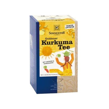 Sonnentor Goldener Kurkuma Tee Bio-Gewürzteemischung