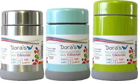 Biodora Thermobehälter aus Edelstahl