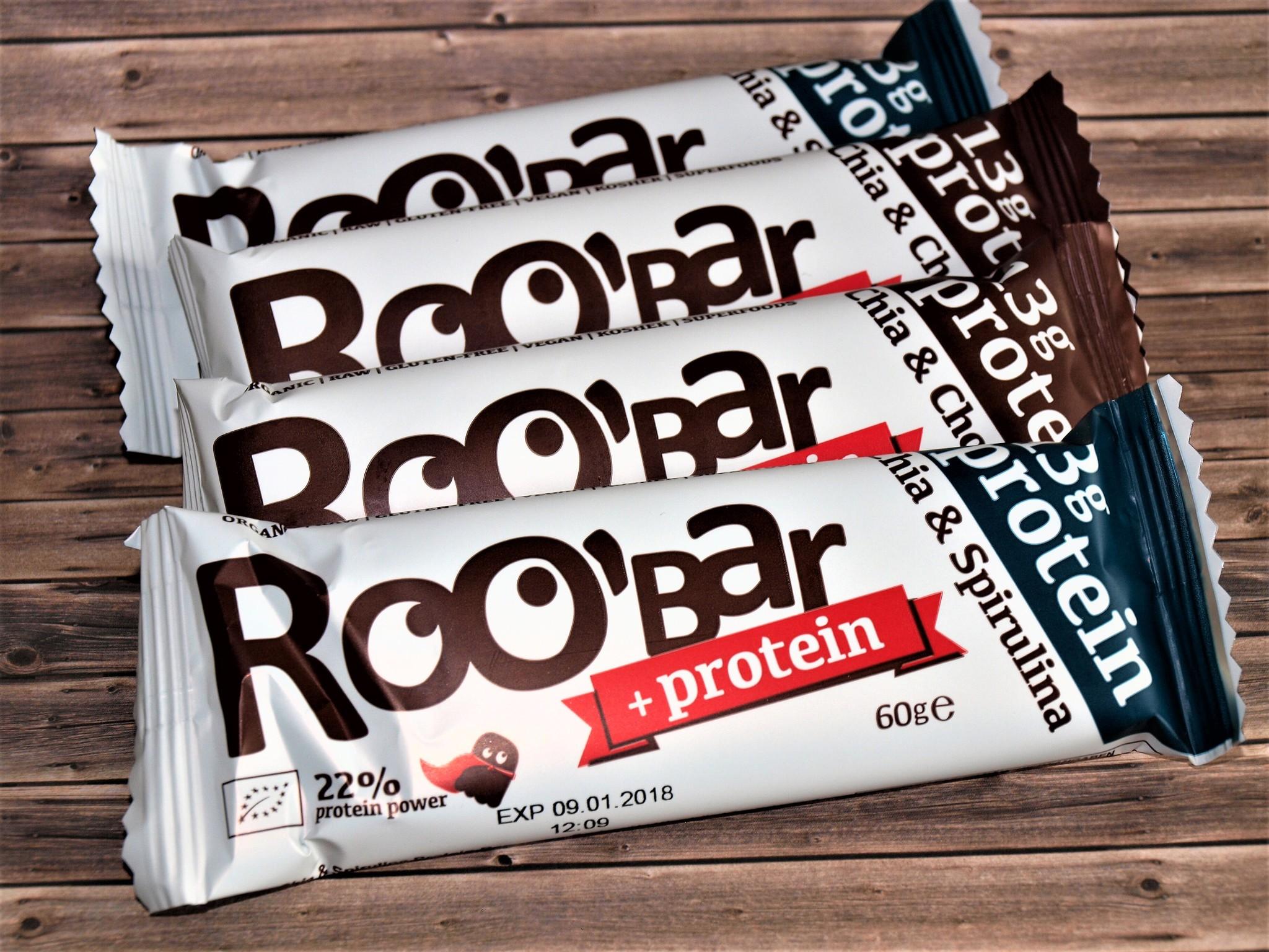 Protein Riegel von Roo'bar