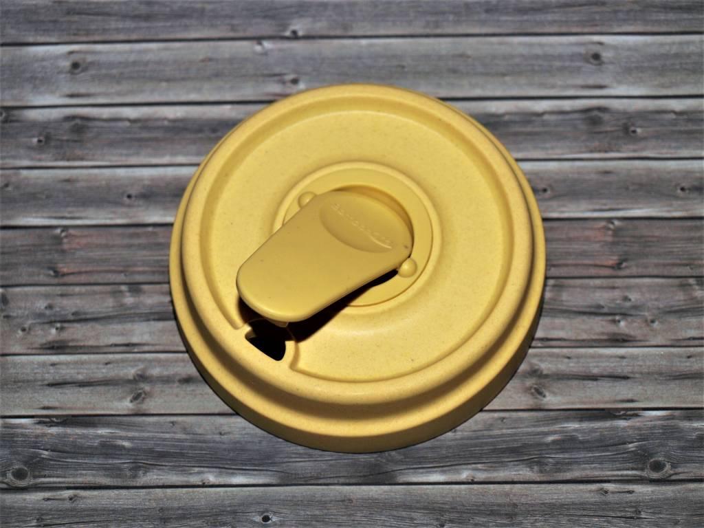 BambooCup Coffee to go Becher und Bambus Becher Ersatzdeckel für ChicMic