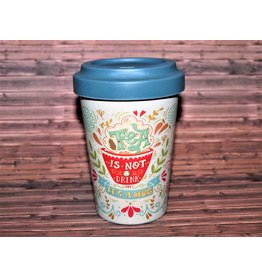"BambooCup Bamboo-Cup ""Tea is a Hug"""