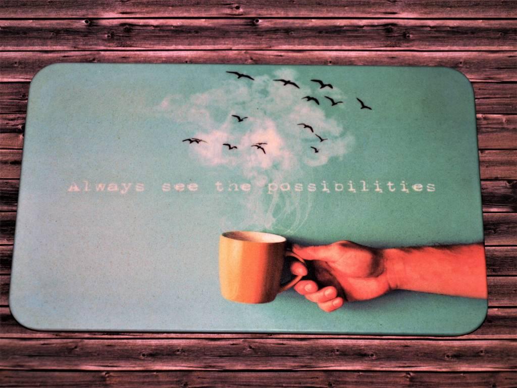 """BambooCup Frühstücksbrettchen """"Possibilities"""""""