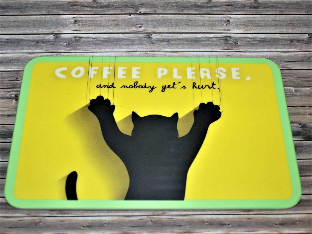 """BambooCup Frühstücksbrettchen """"Coffee Cat"""""""