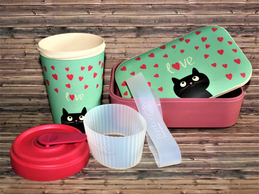 BambooCup Sparset aus Lunchbox und Bamboo Cup