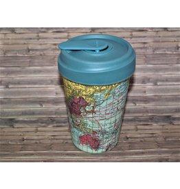 """BambooCup Bamboo-Cup """"Map"""""""