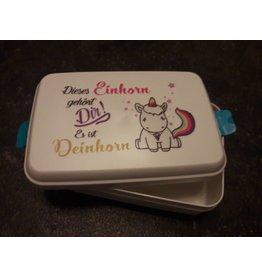 Biodora Lunchbox Motiv  Einhorn