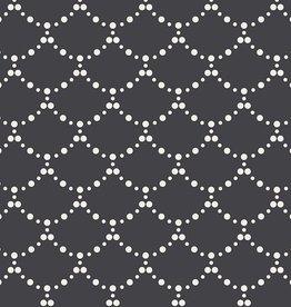 Art Gallery Fabrics Ripples Black