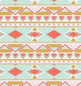 Art Gallery Fabrics Tribal Study Aura