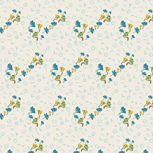 Art Gallery Fabrics Art Gallery Fabrics Bous Trail Bluet