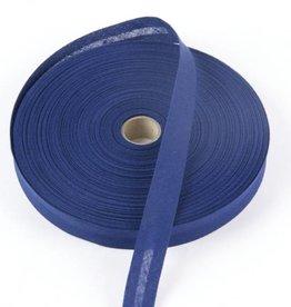 Biais katoen donkerblauw/navy