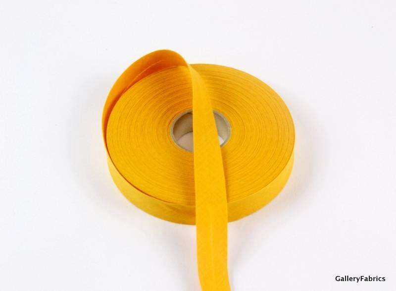 Biais katoen goudkleurig 20mm