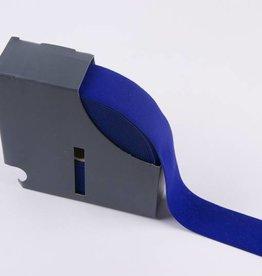 Taille-elastiek blauw