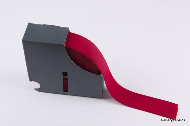Taille Elastiek rood 38mm