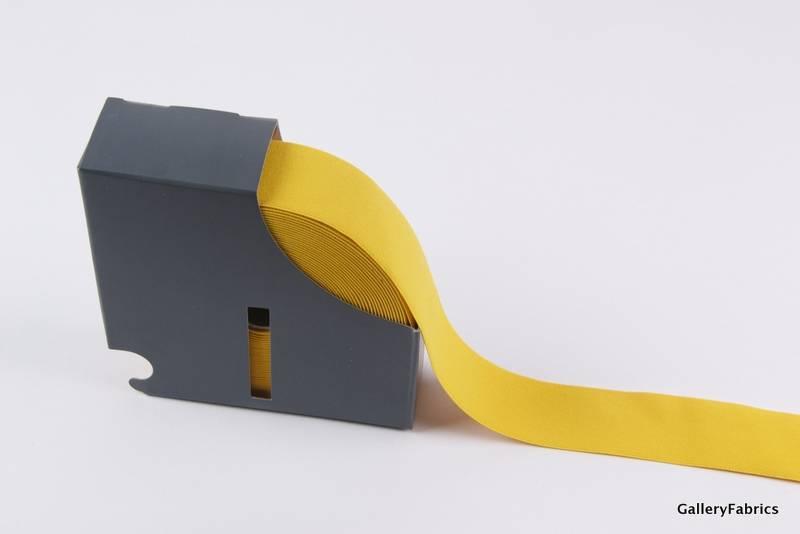 Taille Elastiek geel 38mm