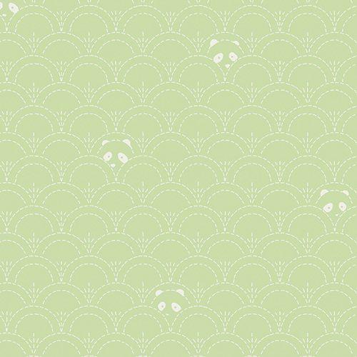 Art Gallery Fabrics Art Gallery Fabrics Hidden Panda Leaf