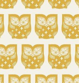 Art Gallery Fabrics Hus Hoot Gul