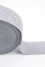 Taille Elastiek zilver