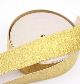 Taille-elastiek goud