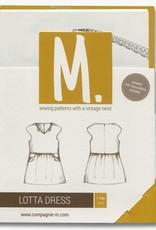 CompagnieM. Patroon Lotta Dress (1-10j) CompagnieM.