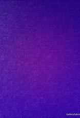 Paarsblauwe katoen/polyester