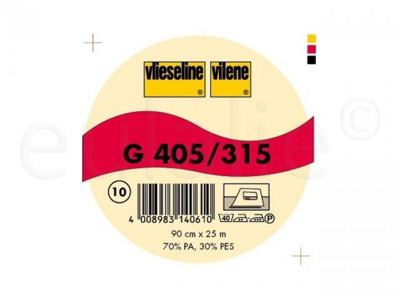 Vlieseline Softline G405 zwart