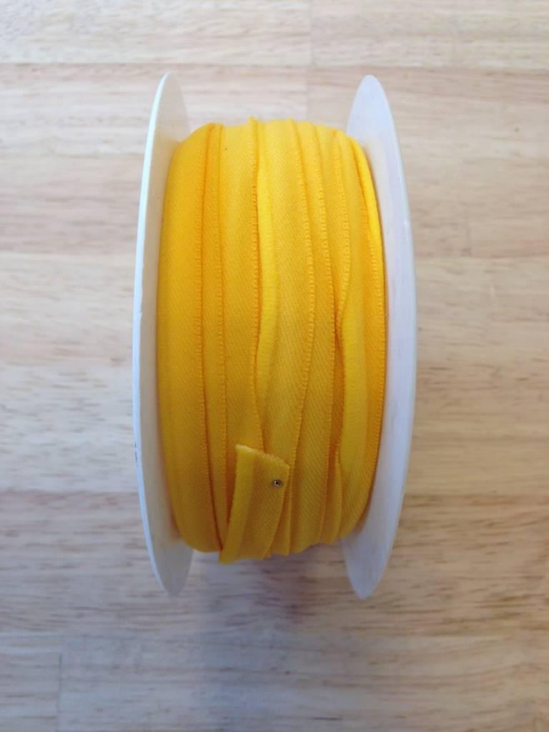 Elastische paspel geel col. 9027