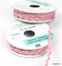 Lint Borduur Glitter Roze