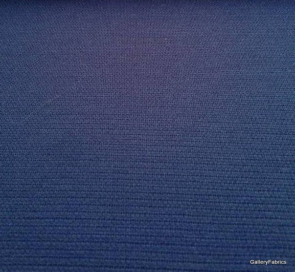 Donkerblauwe textuurtricot