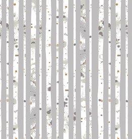 Art Gallery Fabrics Glacier Path Silver