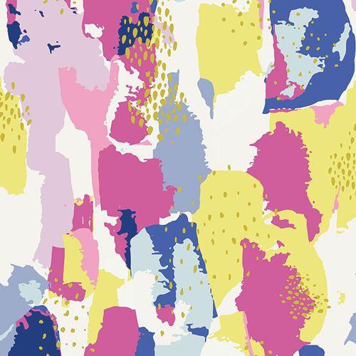 Art Gallery Fabrics Art Gallery Fabrics Improv Strokes Berry
