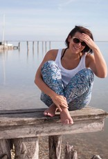 Whale Story Lila-Lotta Katoentricot