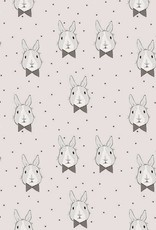 Bloome CPH Bunny Bow/Dots Grey Jersey