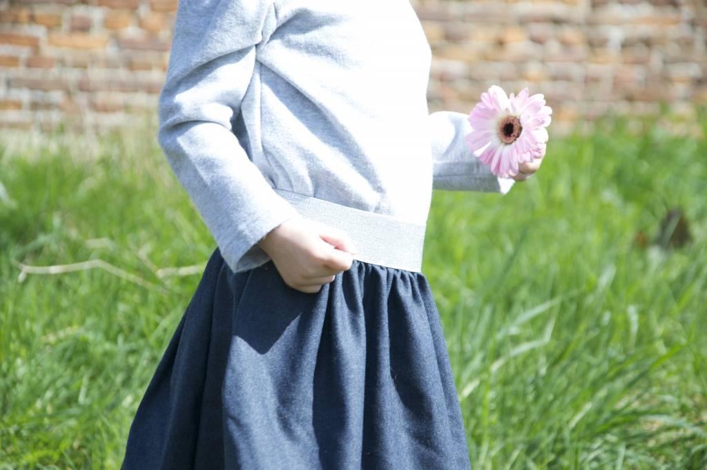 Een complete outfit met restjes stof