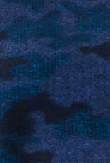 La Maison Victor Wollen stof Blauwgetint