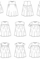 STRAIGHT GRAIN Feliz papieren patroon (Nederlands)
