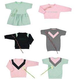 Isa sweater, jurk en top – papieren naaipatroon (Nederlands)