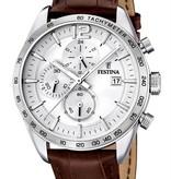 Festina Festina Chronograph horloge F16760/1 - 44 mm - Bruin