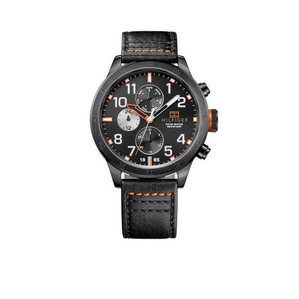 Tommy Hilfiger Trent TH1791136 - Horloge - Zwart - 46 mm - 5 ATM