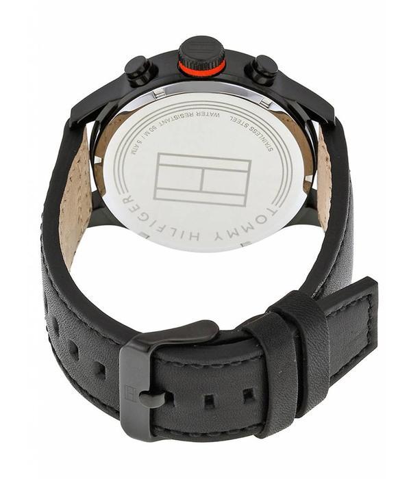 Tommy Hilfiger Tommy Hilfiger Trent TH1791136 - Horloge - Zwart - 46 mm - 5 ATM