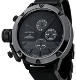 U Boat Classico Black Carbon Fiber Dial Ceramic Black Rubber